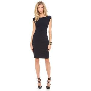 Diane Von Furstenberg Jori Midnight Ruched Dress